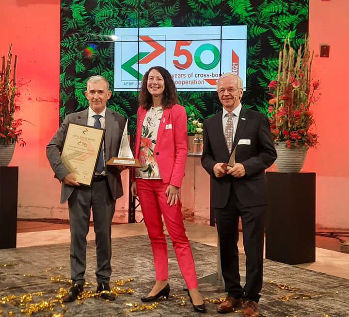 """ΔΕΛΤΙΟ ΤΥΠΟΥ – Ετήσια Γενική Συνέλευση της Ένωσης Ευρωπαϊκών Συνοριακών Περιοχών & Εορτασμός για τα 50 χρόνια από την ίδρυση της. Βράβευση της Νέστος – Μέστα με το πρώτο βραβείο """"Sail of Papenburg – AEBR"""""""